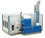 Buona cabina di spruzzo della cambiale di prezzi giù con il bruciatore diesel