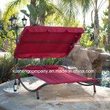 Jardin patio Balançoire/lit avec parasol