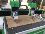 Grabador y cortador de madera del ranurador del CNC de 2 ejes de rotación