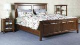 固体木のベッドの現代ダブル・ベッド(M-X2253)