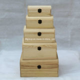 SGS Audited Supplier Elegante Customized Garden Wooden Stack Box
