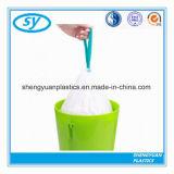 HDPE-LDPE-Plastikwegwerfbetrag-Zeichenkette-Abfall-Beutel