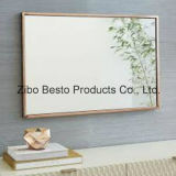 Best Cheap Hanging / Hinged Mirrors com moldura de madeira / madeira na parede do banheiro