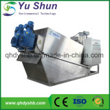 Máquina de desecación del lodo para el tratamiento de aguas residuales domésticas