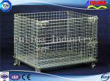 Cesta/jaula modificadas para requisitos particulares de Starage del alto grado con las ruedas (SSW-F-004)