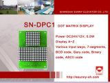 Punktematrix-Bildschirmanzeige-Höhenruder-Schaukasten (SN-DPC1)