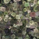 Semi Precious piedra cristalina de fluorita áspero pepita de piedra