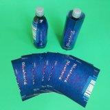 PVC de plástico etiqueta termoencogible de la manga de la botella