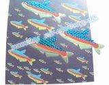 Folheto de carimbo de laser quente