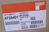 Af26401 Fleetguard Luftfilter für Gleiskettenfahrzeug-Gerät; Demag, Waldung, Liebherr Kräne