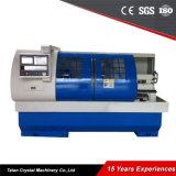 床タイプ金属CNCの自動旋盤機械(CK6150A)