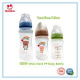 Bottiglia di bambino larga del collo per i bambini d'alimentazione