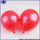 Bunte Red 100% natürliches Latex Runde Perle Ballon Werbung Druck Ballon Latexballons