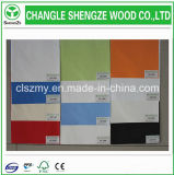 Tarjeta de partícula de la melamina del color de la venta caliente/conglomerado/Flakeboards blancos
