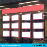 LED Crystal Light Box Acrylic LED Piecture Frame