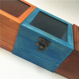 Todas las clases de rectángulo de regalo de madera de los colores