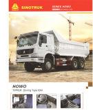 340HP Sinotruk HOWOのトラックのダンプカー6X4 10wheels