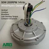 generatore a magnete permanente di 50W 200rpm Coreless