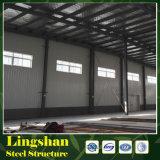 Estructura de acero del edificio del palmo grande del hangar prefabricado del sistema