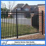 4FT 5FT 6FT clôture de jardin en métal de 3 longerons