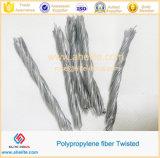 De PP Twisted Bunchy Fibrillated Malha monofilamentos de fibra a fibra da onda