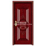 Внутренний таймер твердых деревянной дверью с хорошим дизайном