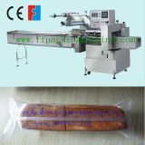 Verpakkende Machine van de Stroom van het Brood van de Controle van de servoMotor de Horizontale