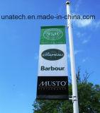 Металлический столб освещения улиц реклама флаг оборудования (BS46)