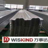 建築材料の防水波形の鋼板