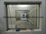 X鉛ガラスか保護鉛ガラスシートを保護する光線