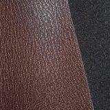Dunkelrotes Brown nachgemachtes PU-Leder, Faux-Schuh-Leder