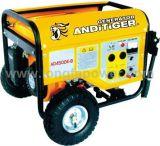 ritrazione 6.5kVA/generatore chiave elettrico della benzina di inizio con le rotelle