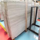 Китайский популярный белый деревянный мрамор зерна
