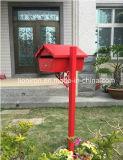 Напольные декоративные свободно почтовые ящики утюга коробки письма сада стойки