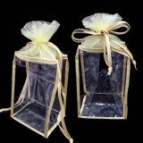 Sac de empaquetage de cadeau cosmétique imperméable à l'eau de PVC de coutume