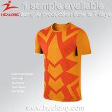 Healong 2017 kundenspezifischer bunter Entwurfs-Mann vereinigtes Fußball-Team-T-Shirt