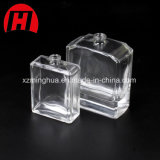 Design exclusivo 50ml rectângulo vaso de perfumes de luxo