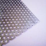 1 m. X 2 m., 1 millimetro di lamiera sottile perforata galvanizzata spessa con il passo del foro da 1.5 millimetri & del foro da 3 millimetri