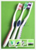 Cepillo de dientes adulto similar 360 con el producto de limpieza de discos de la lengüeta (E105)