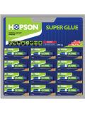 12ПК/Card алюминиевые трубы Super Glue (дважды) в блистерной упаковке (HCA-D12B)