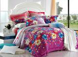 Reine Baumwolle mit der reagierenden gedruckten Bettwäsche eingestellt (YH1395)