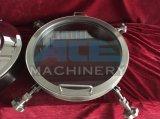 Presión sanitaria regular Ronda de acero inoxidable SS304 / SS316L Cubierta de boca (ACE-RK-Q1)