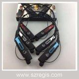 Водонепроницаемая стерео Bluetooth 4.0 гарнитура с одним перетащите 2 микрофона