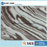 아름다운 대리석 부엌 싱크대 훈장 물자를 위한 색깔에 의하여 설계되는 돌 석영 단단한 표면