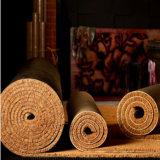 Pavimentazione del Rolls del corridore della stuoia delle coperte della moquette della fibra della palma di noce di cocco della fibra di cocco dei Cochi della fibra naturale del Brown dell'oro