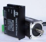 Componentes de la máquina de coser industrial de 8 polos 36V 100W AC servo motor