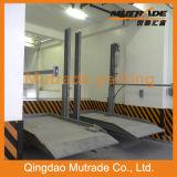 Système de stationnement de poste de Mutrade deux (Hydraulique-stationnement 1123)