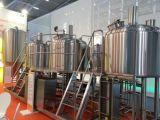 小型ビール工場装置のビール醸造所のステンレス鋼装置500リットルのビールMicrobrewing