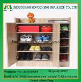 مدخل أثاث لازم خشبيّة 2 باب حذاء خزانة