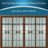Guter Preis-Aluminiumschiebetüren mit vier Panels